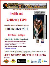 PTSD Awareness Day 2010 Poster